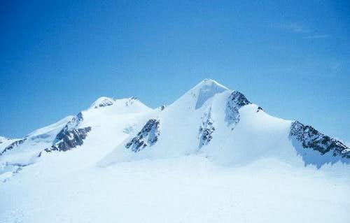 Wildspitze (left) and...