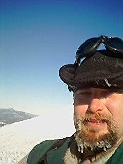 Self portrait on the summit...