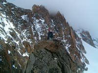 Summit of Aiguille du Génépi