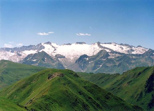 You can see highest Peak of Pyrenees