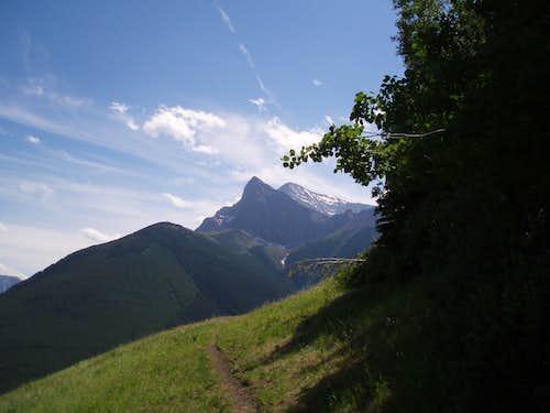Mt. Kidd from Centennial Trail