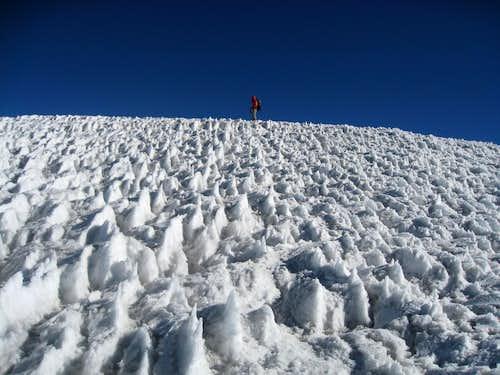 Iztaccihuatl Glacier
