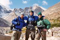 Longs Peak-Chasm Lake Junction -11,400 ft-Sept. 06