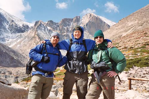 Longs Peak-Chasm Lake Junction -11,400 ft-Sept. 06