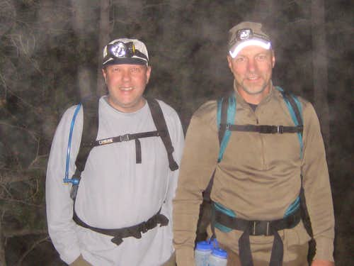 Longs Peak-K and Dan-Trailhead-0235 hrs