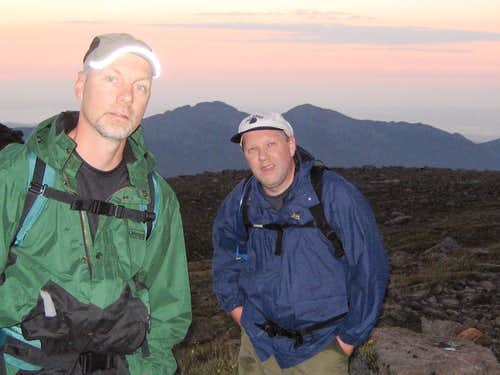 Longs Peak-Dan and K-Traversing Mount Lady Washington-Twin Sisters to East-0530 hrs