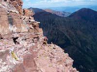 Trail on North Maroon Peak