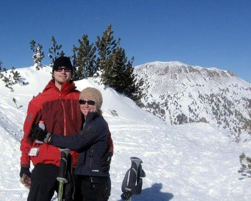 Jas & I - near Mt Rose