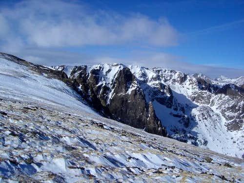 Shot of Notchtop Mountain...