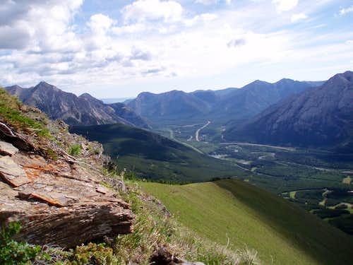 Centennial Trail looking N