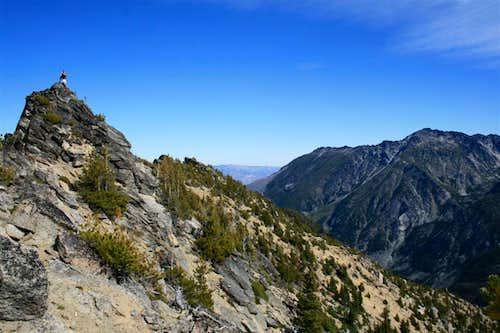 Axis summit ridge