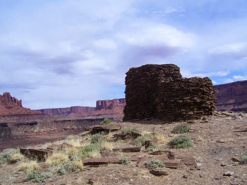 Summit of Fort Bottom Butte