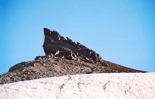 A neat little rock outcrop...