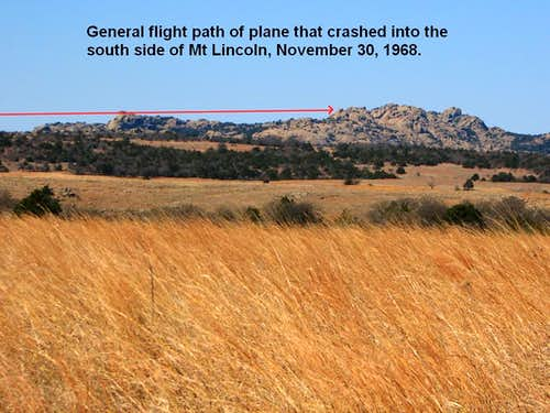 Plane Crash Flight Path