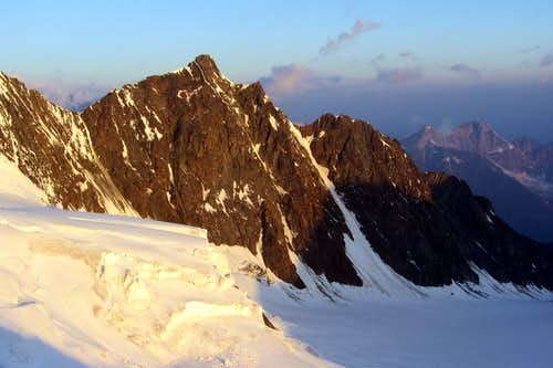 Dürrenhorn and Chli-Dürrenhorn