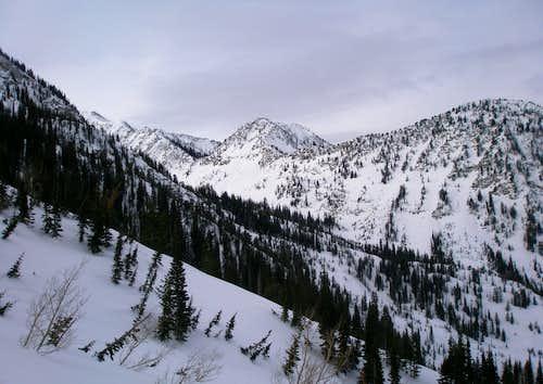 Rocky Mouth Canyon Peak