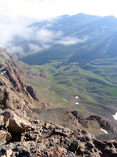 From southern summit
