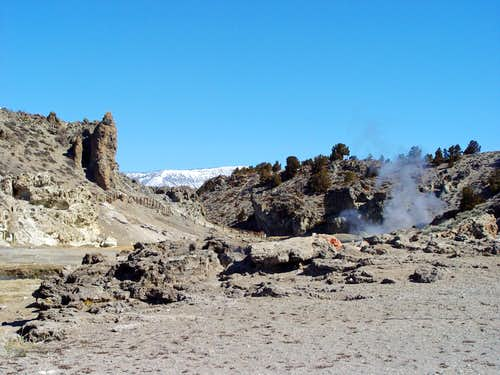 Hot Creek Geothermal Area