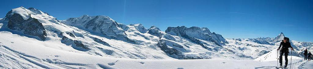 Panorama from Stockhorn