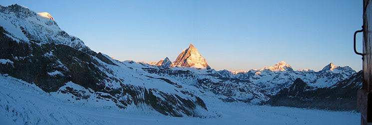 Panoramic View\'s around Zermatt