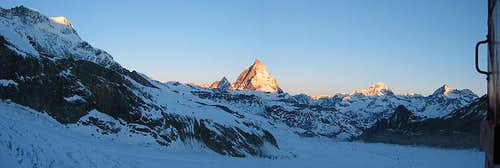 Panoramic View's around Zermatt
