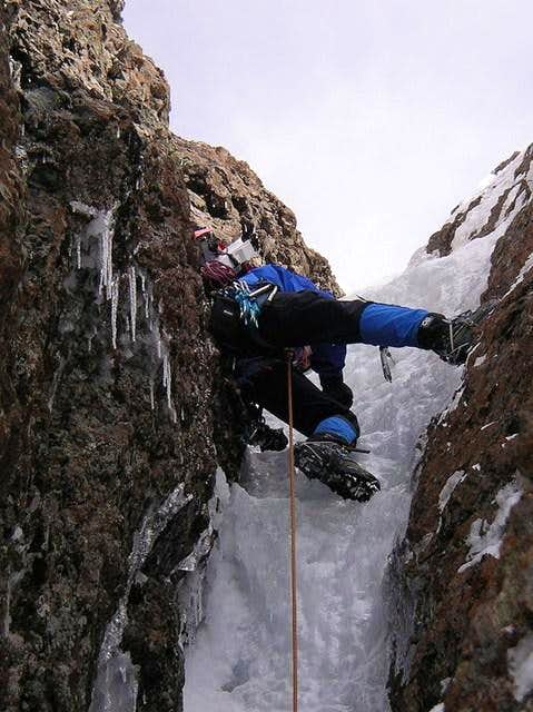 Vertical step 2nd pitch