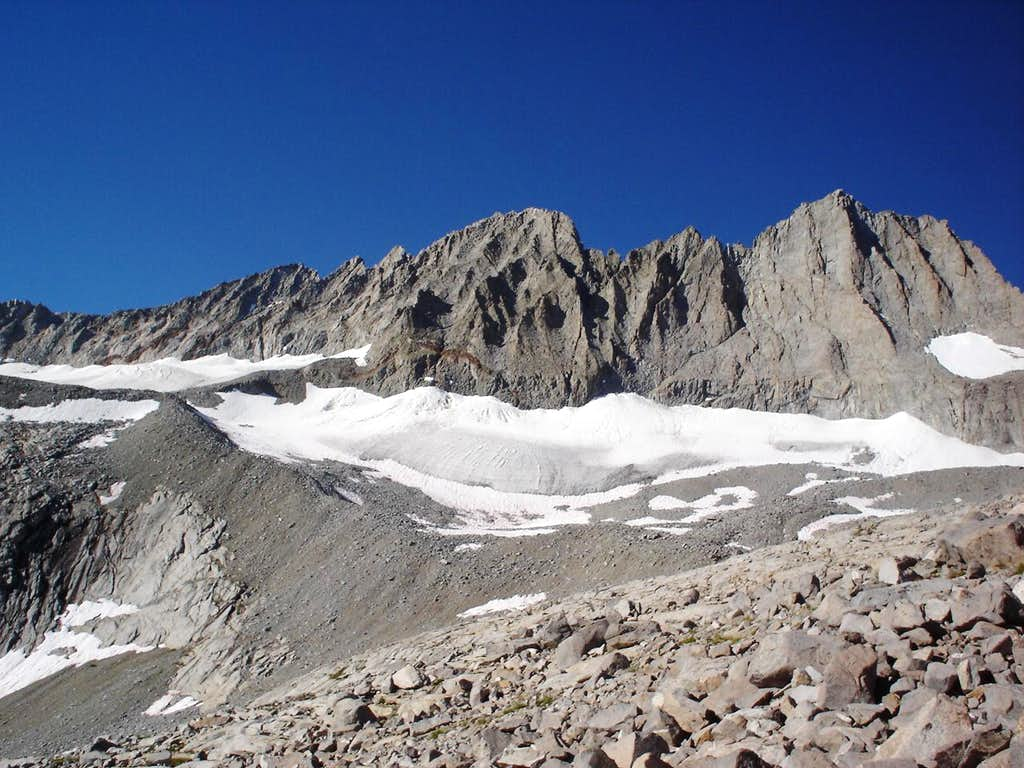Middle Palisade (L) and Norm Clyde PK (R)