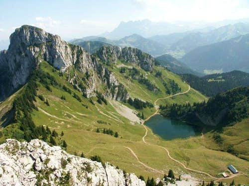 Chablais Mountains - Arvouin...