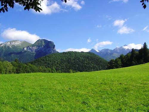 Belanske - on left and High - on right  - Tatras