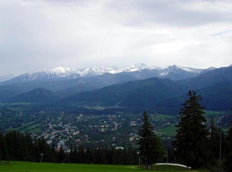 The bigest Polish Mountain Resort - Zakopane
