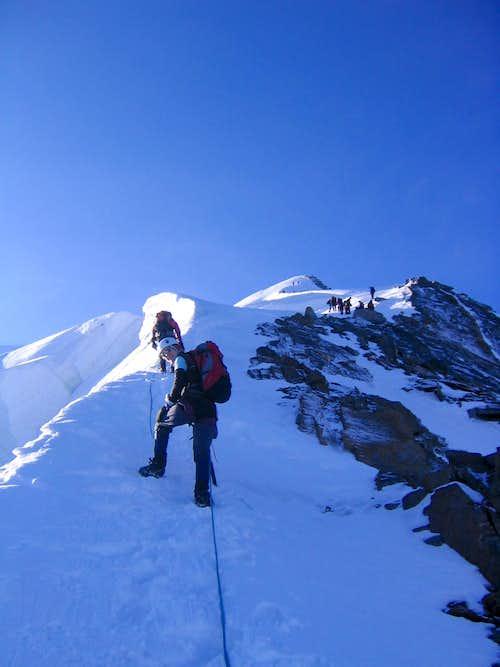 Dom 4545m (Festi ridge)