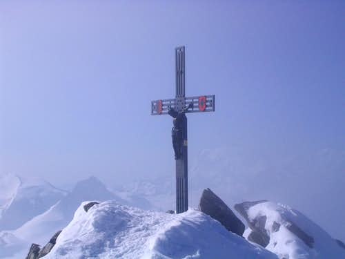Summit cross Dom 4545m