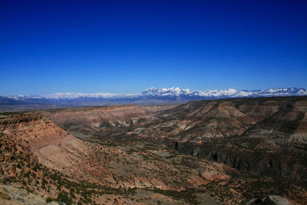 Gunnison Gorge and West Elks