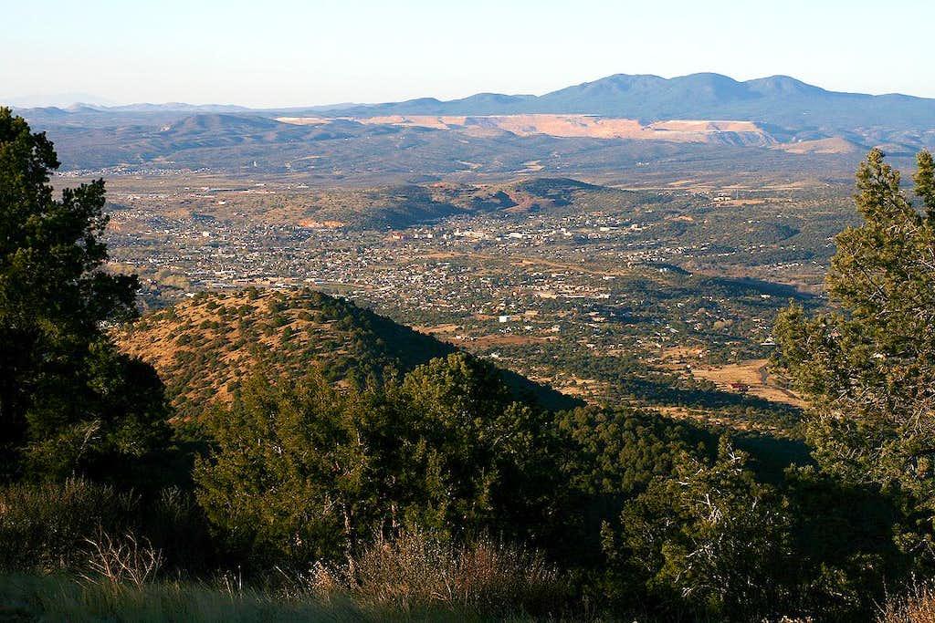 Point 7906 summit view