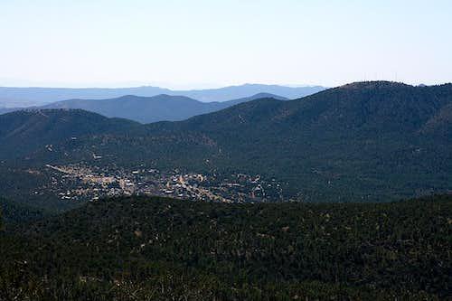 Pinos Altos Mountains