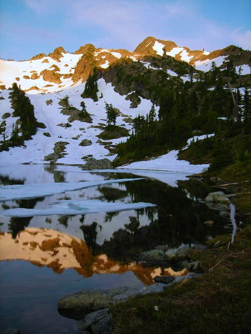 Mt Skokomish Reflection