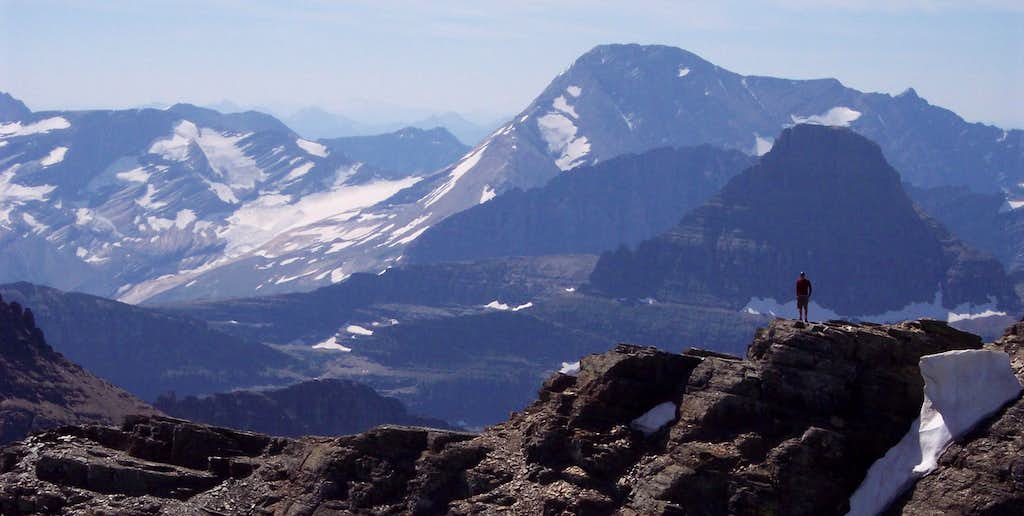 Jackson Glacier from Gould