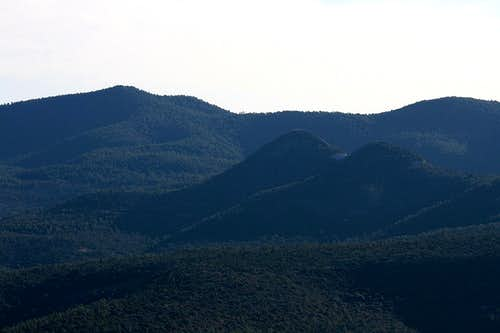 Pinos Altos Mountain summit view