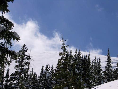 The Summit ridge of Mt. Elbert