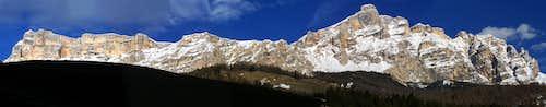pano from Val Badia