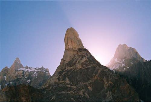 Marpho Goro Rock Towers, Karakoram, Pakistan