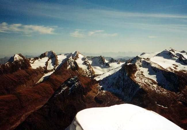 View from the Ramolkogel to...