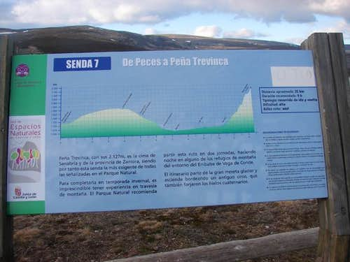 Route from Sanabria