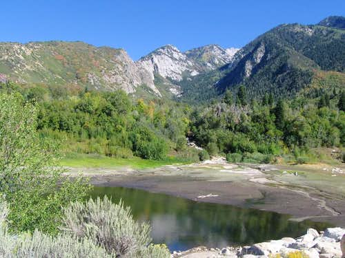 Bells Canyon and Lower Bells Reservoir