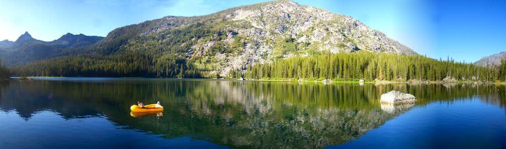 Axis Peak & Lake Stuart