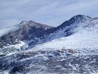 Mt. Evans (l), the Sawtooth...