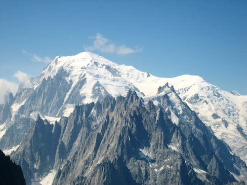 Mont Blanc - North Side