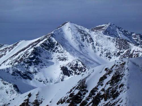 Grays Peak Winter Photos
