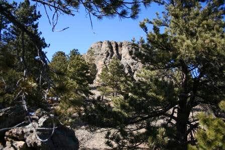 Rock Outcropping on Evergreen Mountain