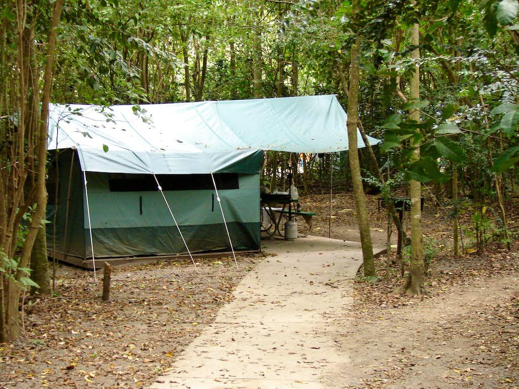Cinnamon Bay rental tent
